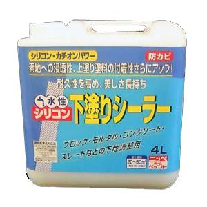 水性シリコンシーラー 4L