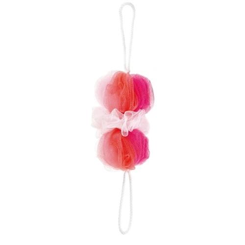 背中も洗えるシャボンボールミックス ピンク