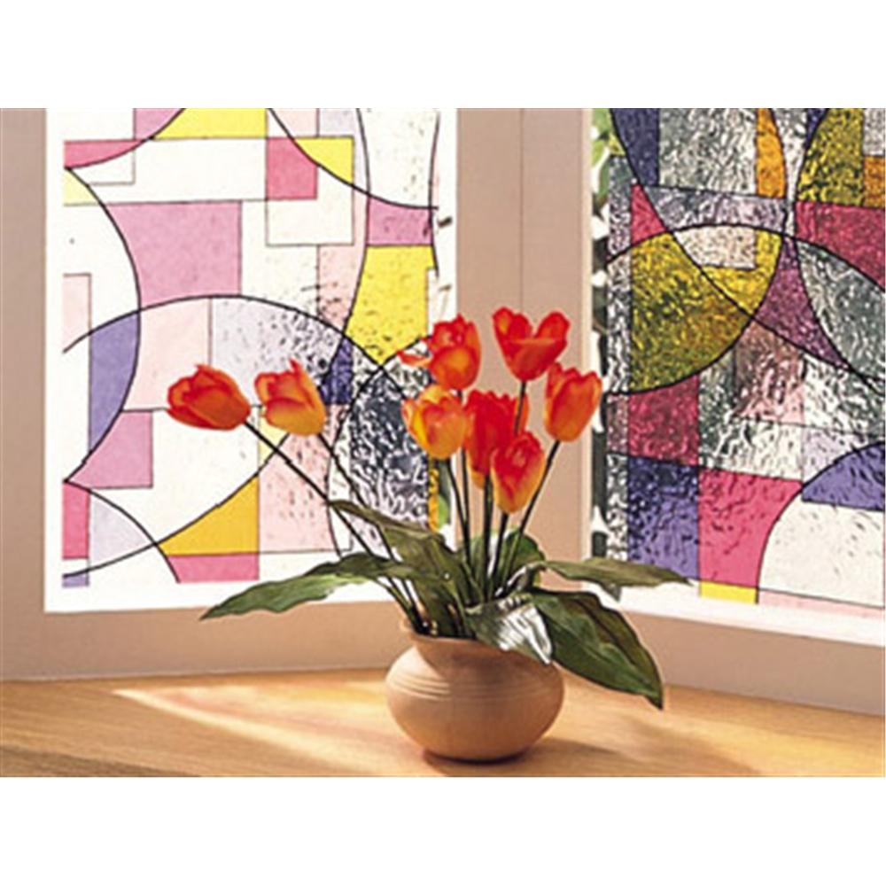 明和グラビア 窓飾りシート GLS-9252