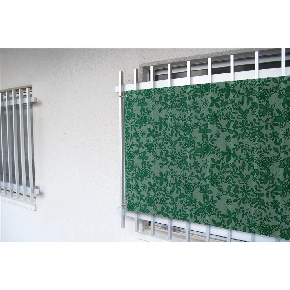 明和グラビア 小窓用目隠しシート リーフ グリーン SRO−60135