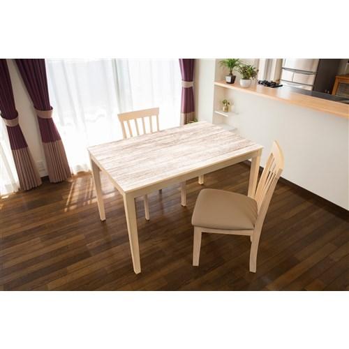 明和グラビア テーブルデコレーション ホワイトウッド