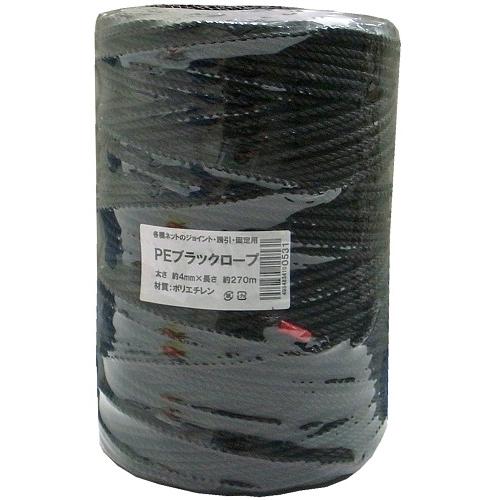 PEブラックロープ