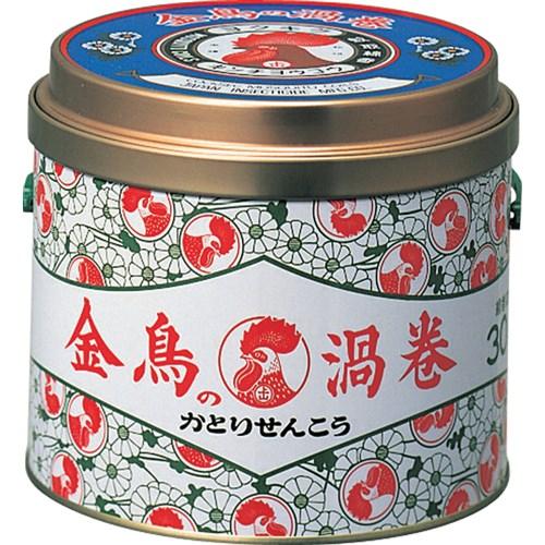 金鳥の渦巻30巻缶入