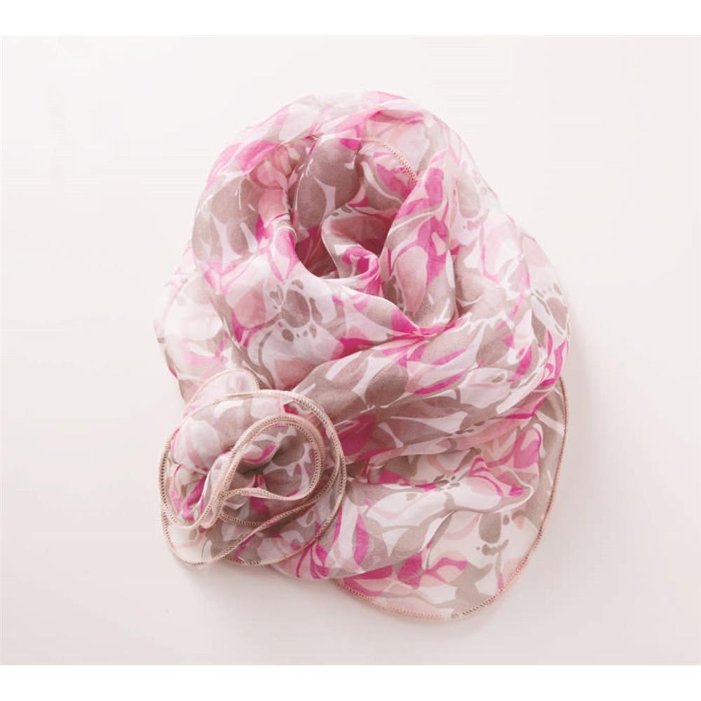 シルクのスカーフ(フリル付き) 0220556