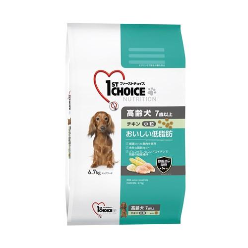 ファーストチョイス おいしい低脂肪 高齢犬小粒 7歳以上 チキン6.7kg