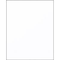 化粧合板クトクカラーピュアホワイト 約3.8×606×2430mm 12枚セット