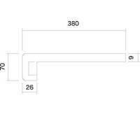 GOODマクラダナセット GKM−178W 70×1780×380mm