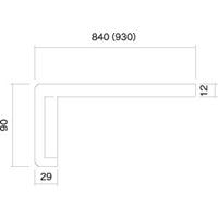 GOODナカダナセット GS−268W 90×2680×840mm