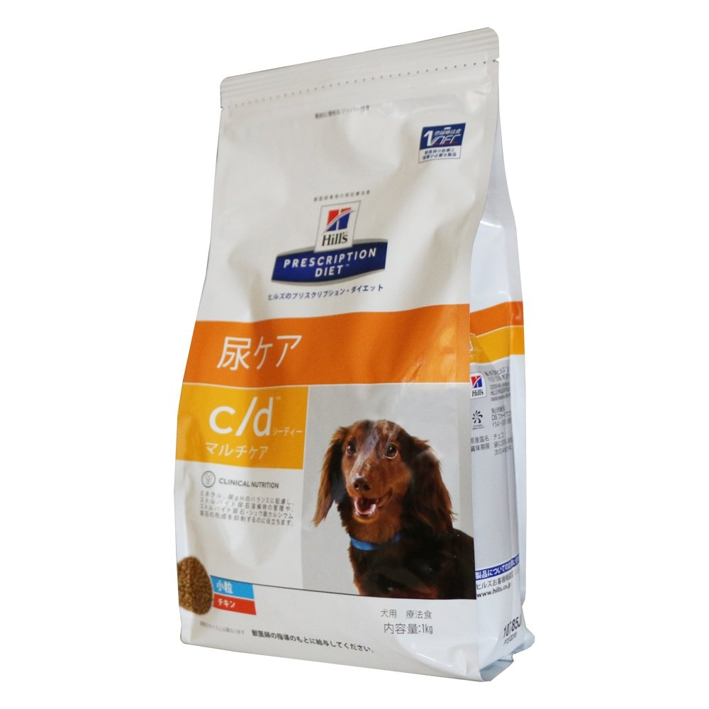 プリスクリプション・ダイエット 療法食 犬 c/d マルチケア 小粒 1kg