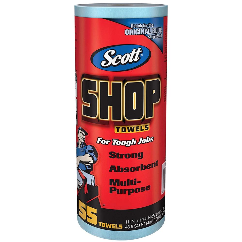 スコット(SCOTT) Shop Towel ショップタオル 65900 ブルーロール
