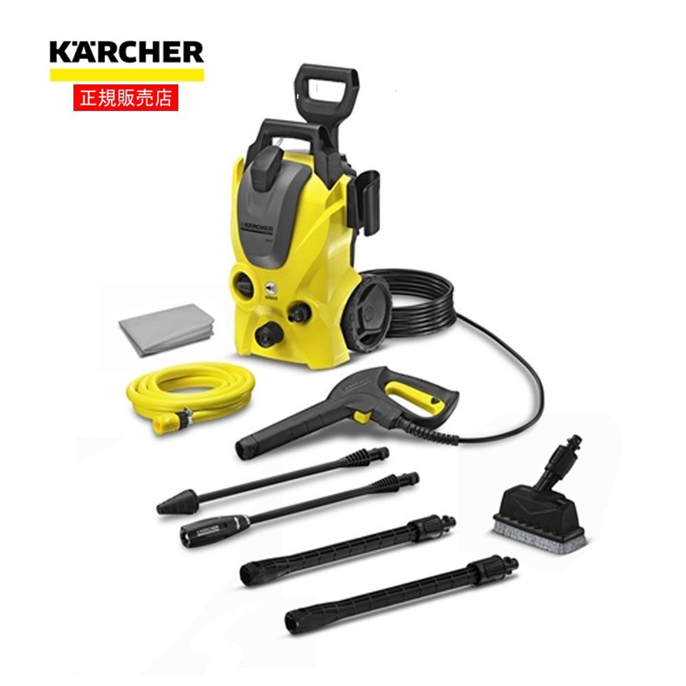 ケルヒャー(Karcher) ベランダクリーナー60Hz 高圧洗浄機 K2.900サイレント+デッキクリーナーPS20