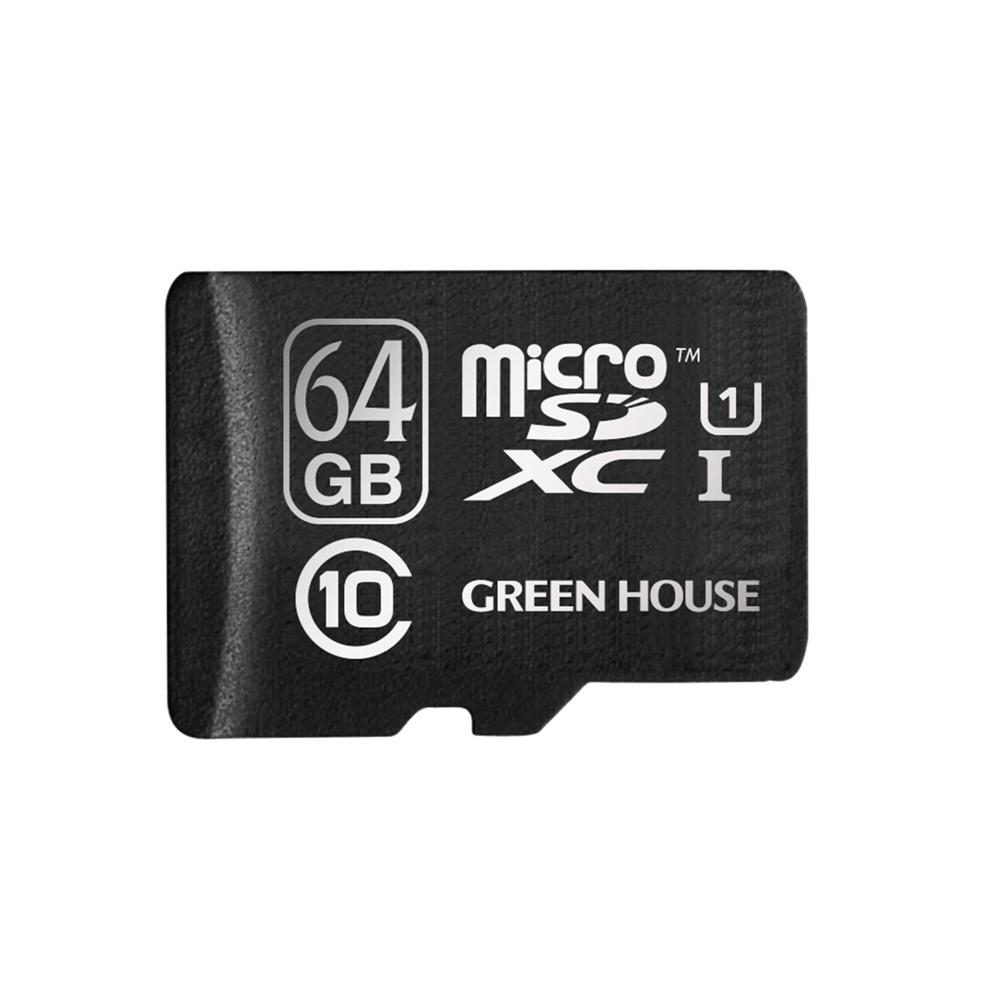 microSDXCカード UHS−I U1 クラス10 64GB GH−SDMRXCUB64G