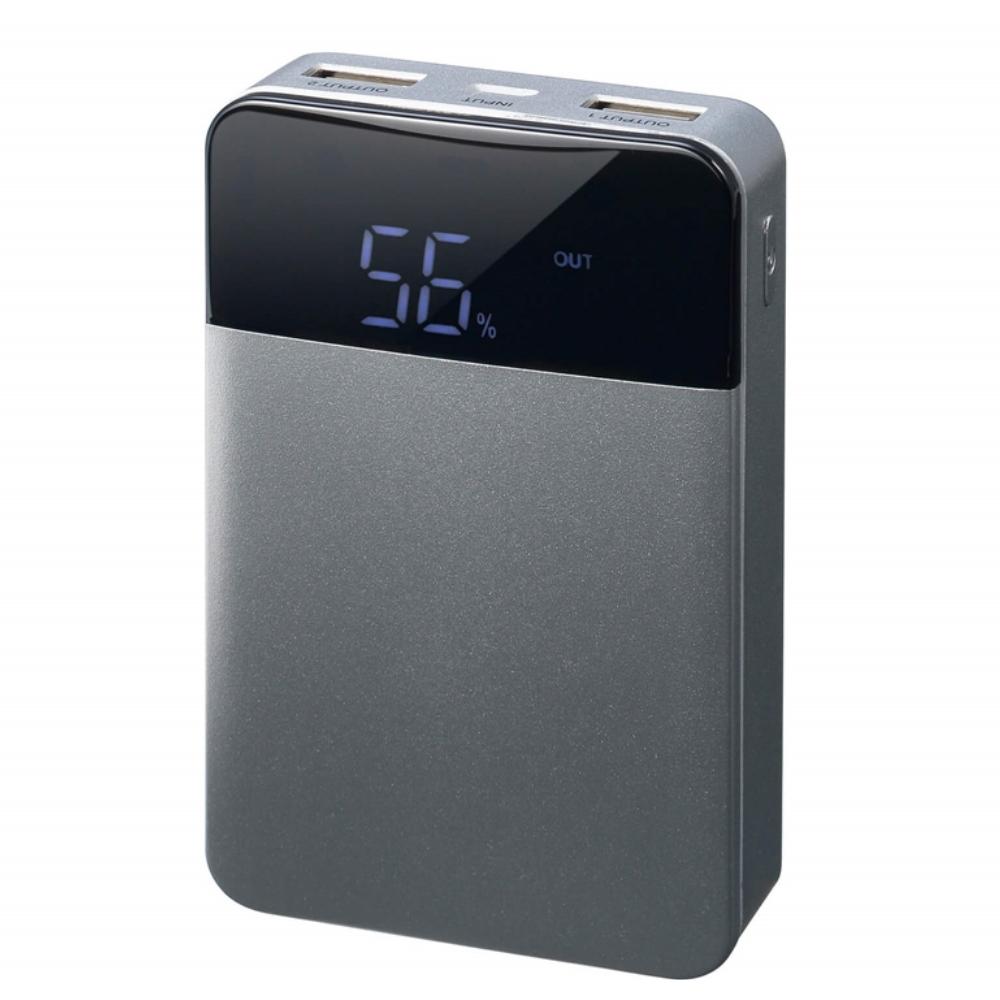 GREN HOUSE モバイル充電器 10000mAh  GH-BTF100-SV
