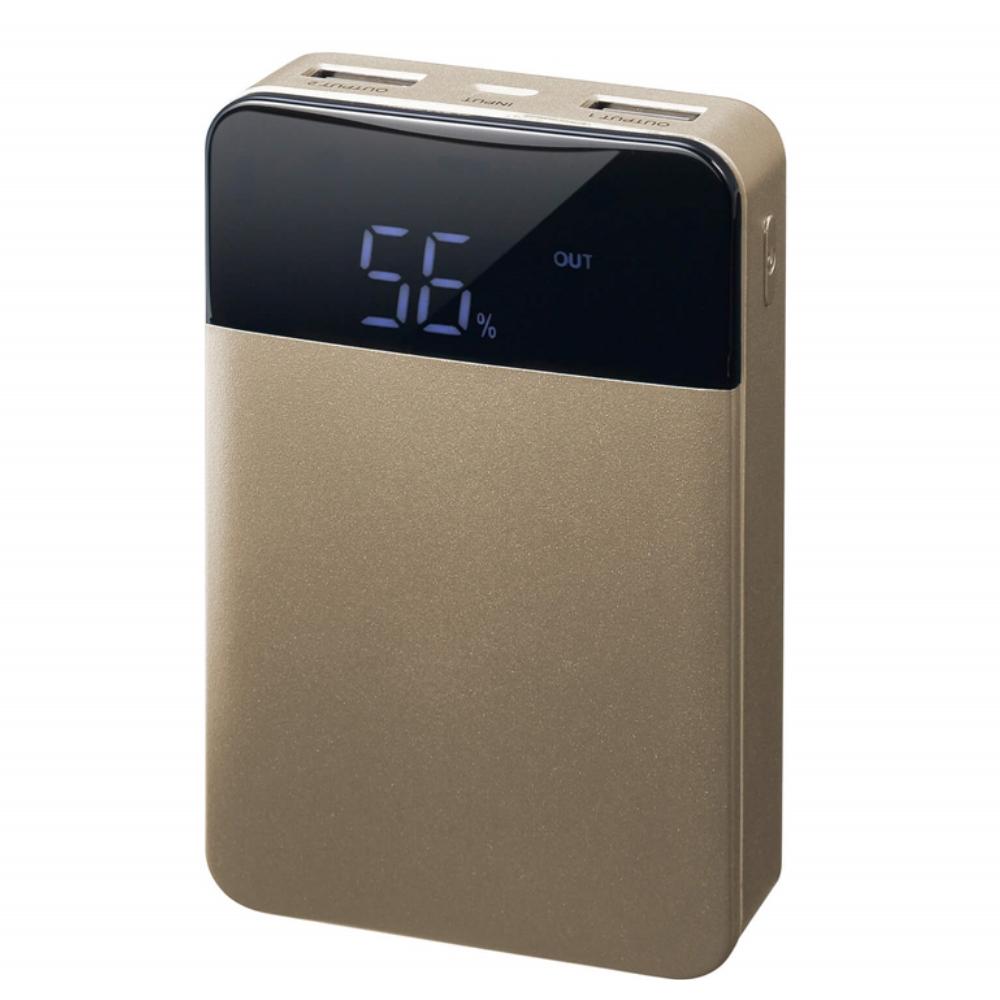 GREN HOUSE モバイル充電器 10000mAh  GH-BTF100-GD