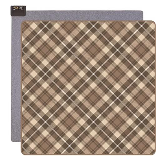 KODEN カーペット2畳セット VWU2015−NHC 1 ブラウン 幅1800×奥行1800×高さ12mm