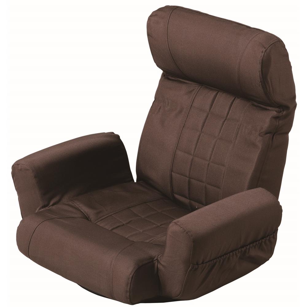 コーナン オリジナル ヘッドS肘付回転座椅子 KSS06-5733