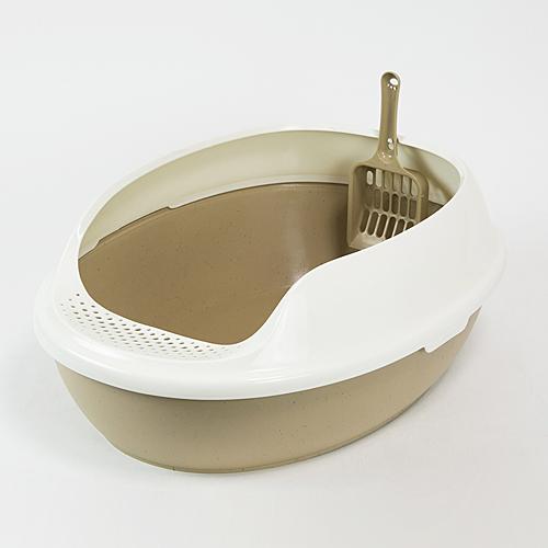 ☆☆☆ コーナン オリジナル キャットトイレ オーバルBR