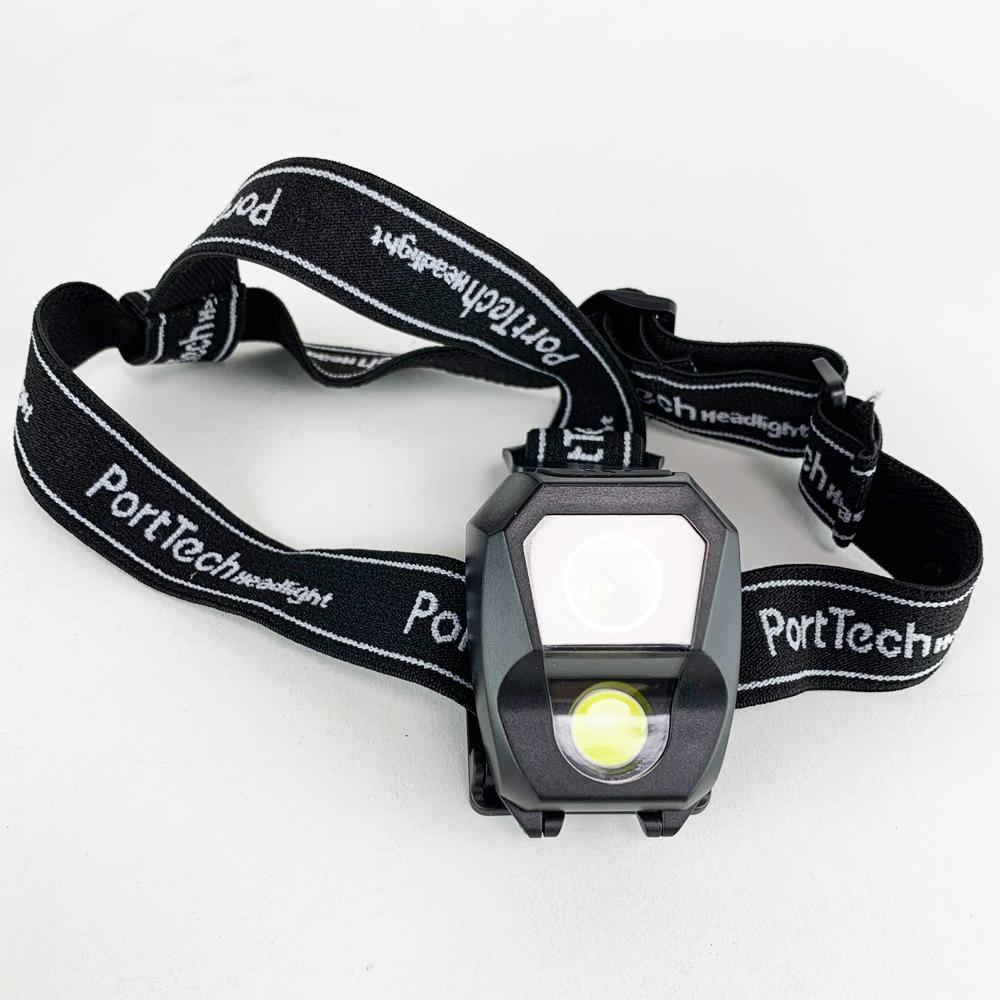 コーナン オリジナル PortTech LEDヘッドライト08D−HL083−BK