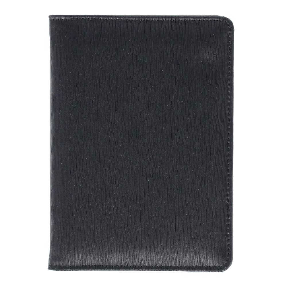 コーナン オリジナル LIFELEX パスポートケース シボBK 牛床革タイプ