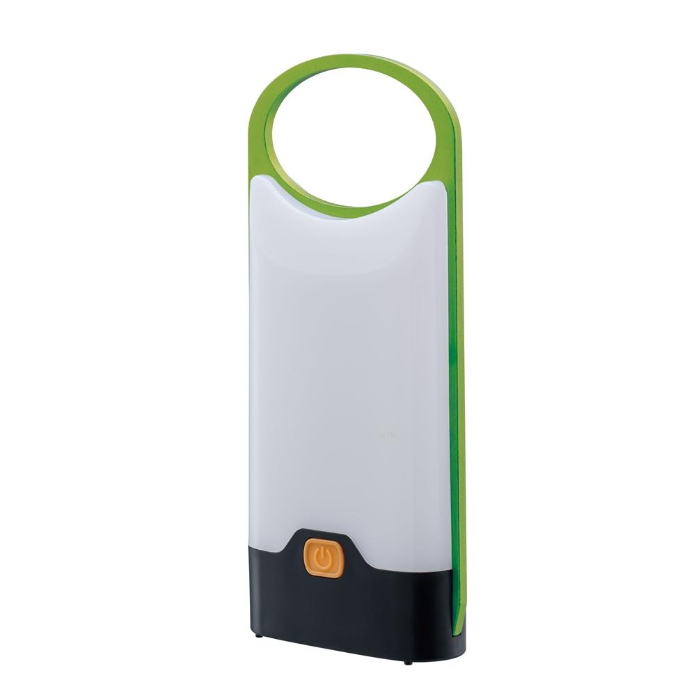 コーナン オリジナル 卓上ランタン グリーン 約幅85X奥行20X高さ200mm GN CH23−3899 ※単4電池X3本使用(別売)