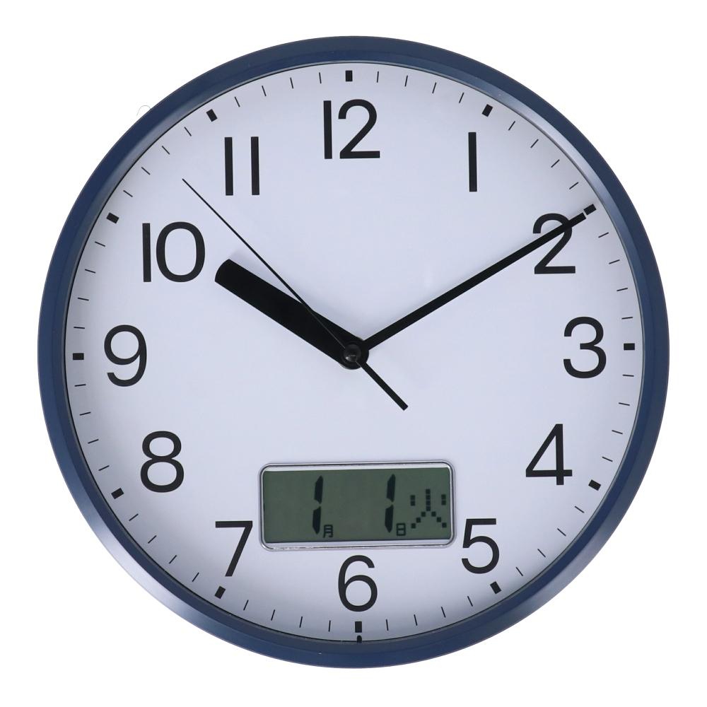 コーナン オリジナル LIFELEX 掛時計 日付表記付 FX−7845
