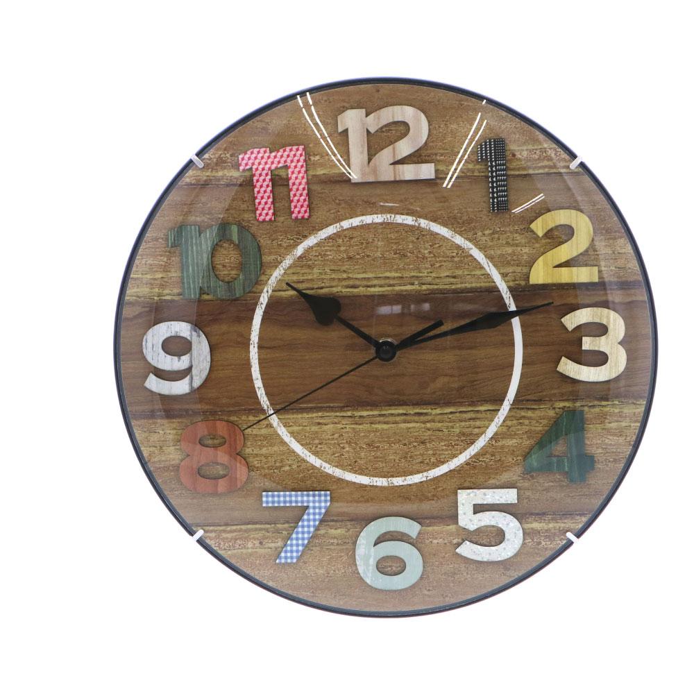 コーナン オリジナル LIFELEX インテリア掛時計 FX−7128M1