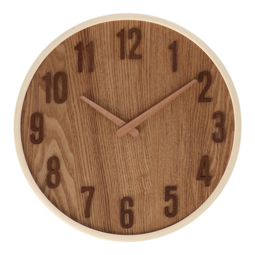 コーナン オリジナル LIFELEX 木製掛時計 FX−4412M1(963)