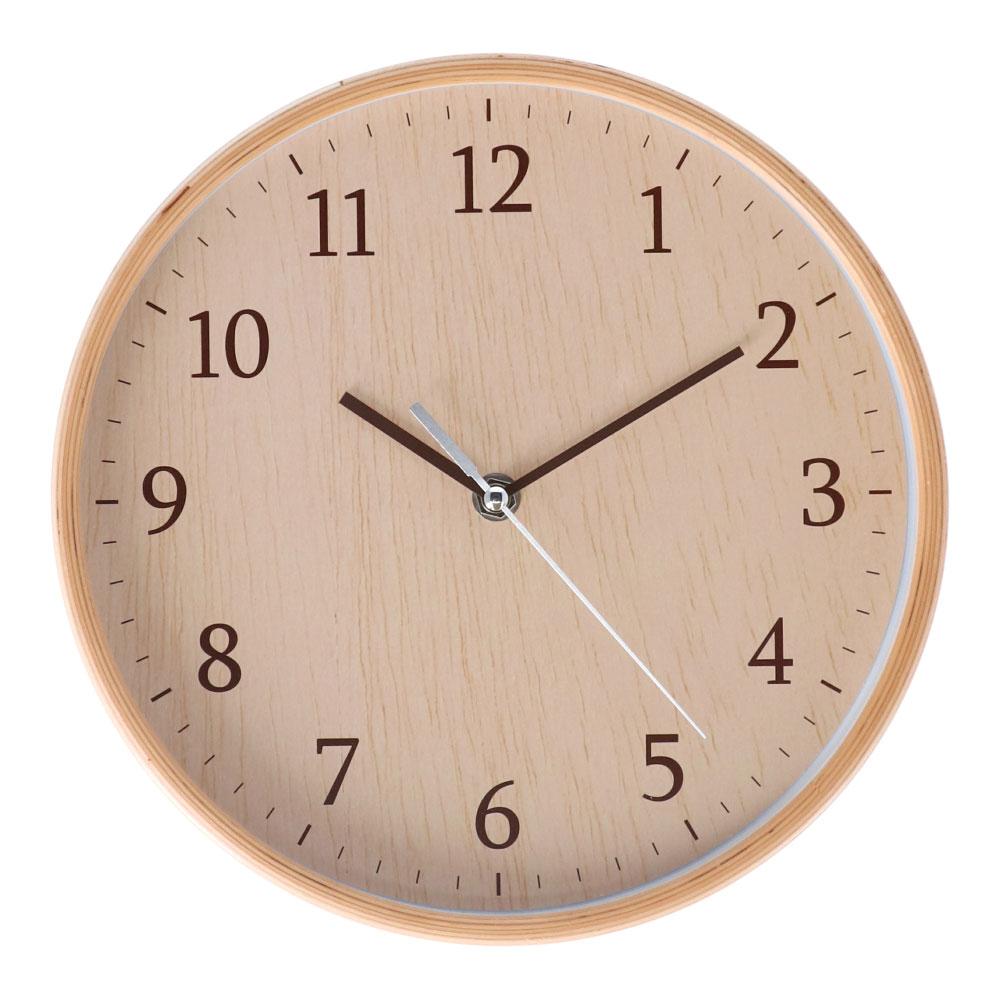 コーナン オリジナル LIFELEX 木枠掛時計 FX−5845W1(830)