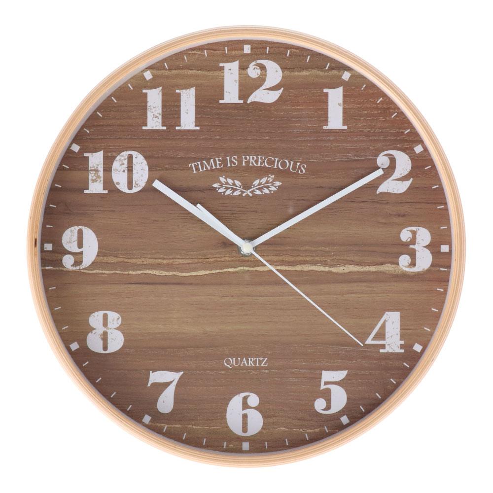 コーナン オリジナル LIFELEX 木枠掛時計 FX−5850