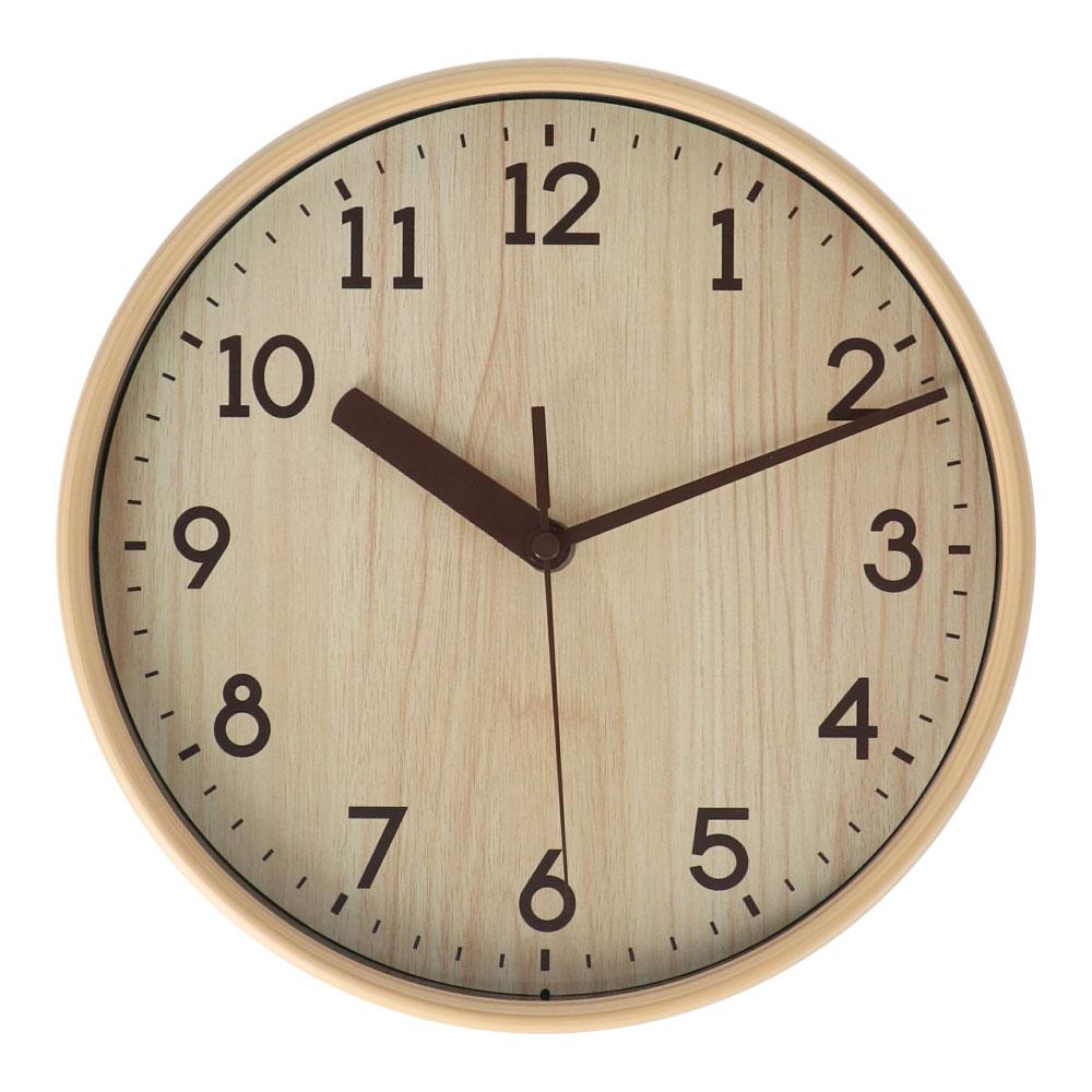 コーナン オリジナル LIFELEX 木目調掛時計 FX−5717Q11(948)