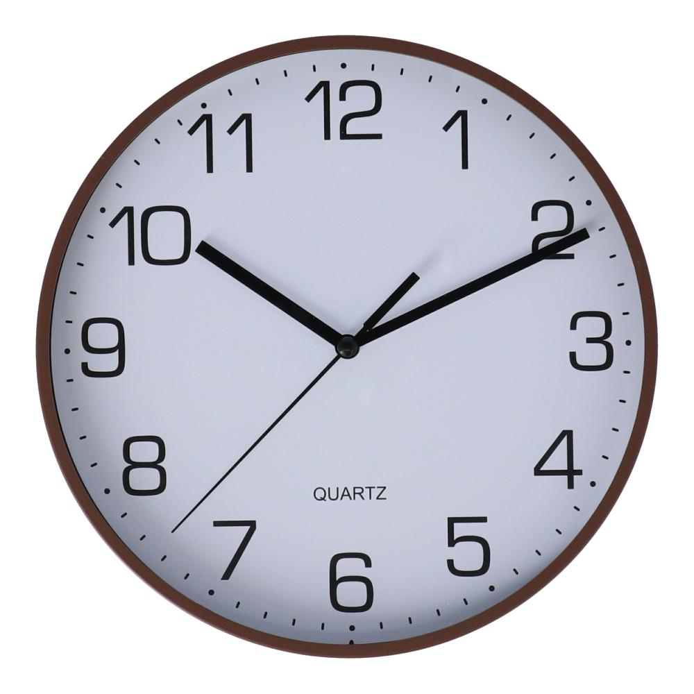コーナン オリジナル 掛時計 ブラウン FX−5722 BR