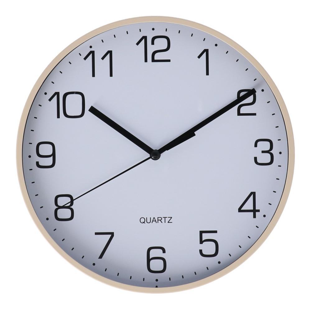 コーナン オリジナル 掛時計 ベージュ FX−5722 BE