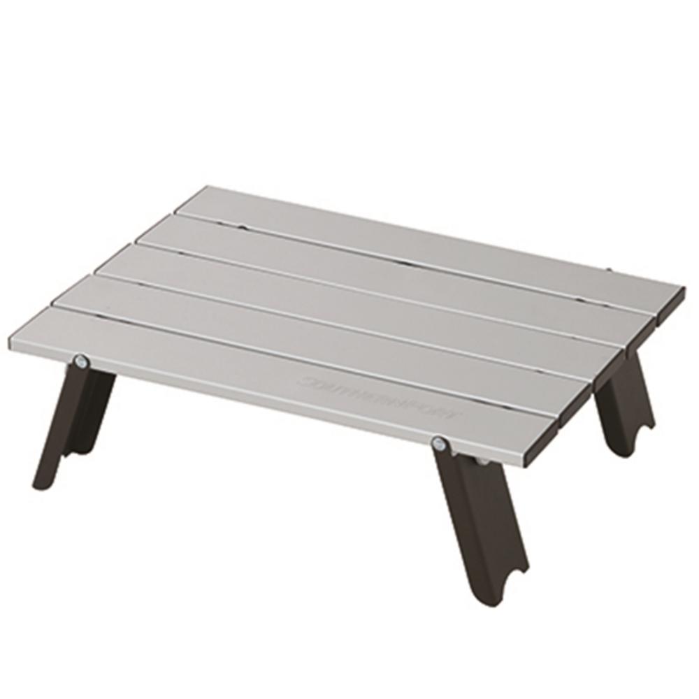 コーナン オリジナル アルミミニテーブル 約幅400X奥行290X高さ120mm 静止耐荷重:約10Kg HW9016