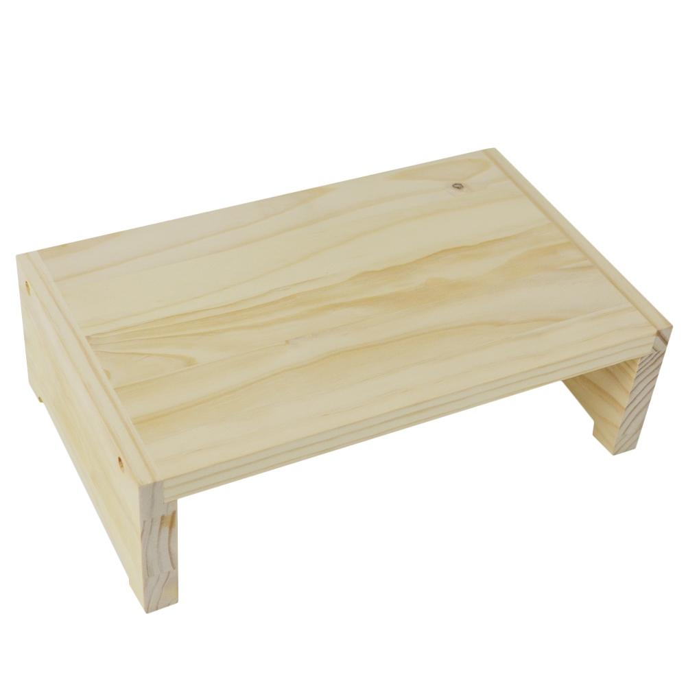 ☆☆ コーナン オリジナル 木製リトルスタンドR サイズ:幅32.5X奥行20X高さ10cm LTS01−1039 ※踏台として使用不可