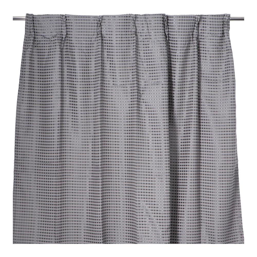 コーナン オリジナル LIFELEX ワッフルカーテン 2枚入 約100×135cm グレー