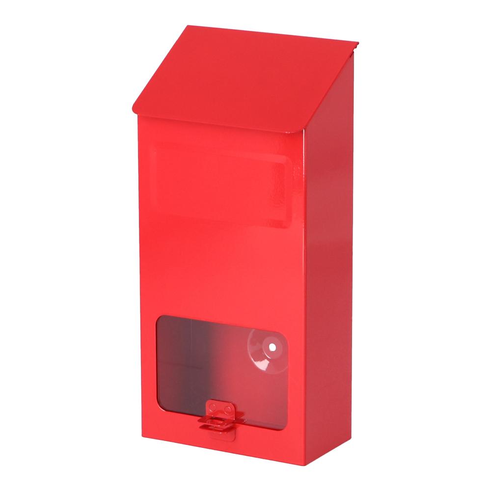 コーナン オリジナル LIFELEX スチール簡易ポスト 赤 LFX03−6919