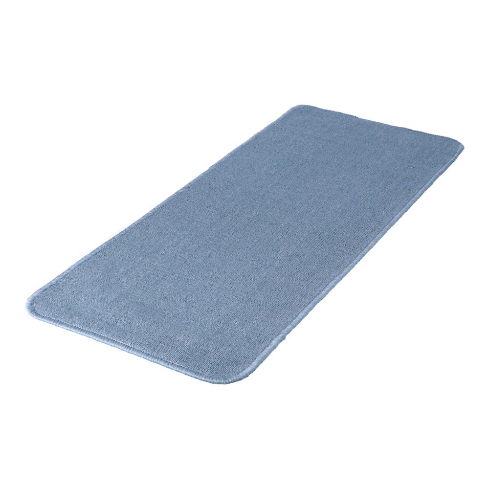 コーナン オリジナル LIFELEX タフトカーペット 約50×120cm ブルー