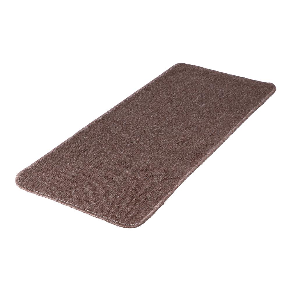 コーナン オリジナル LIFELEX タフトカーペット 約50×120cm ブラウン