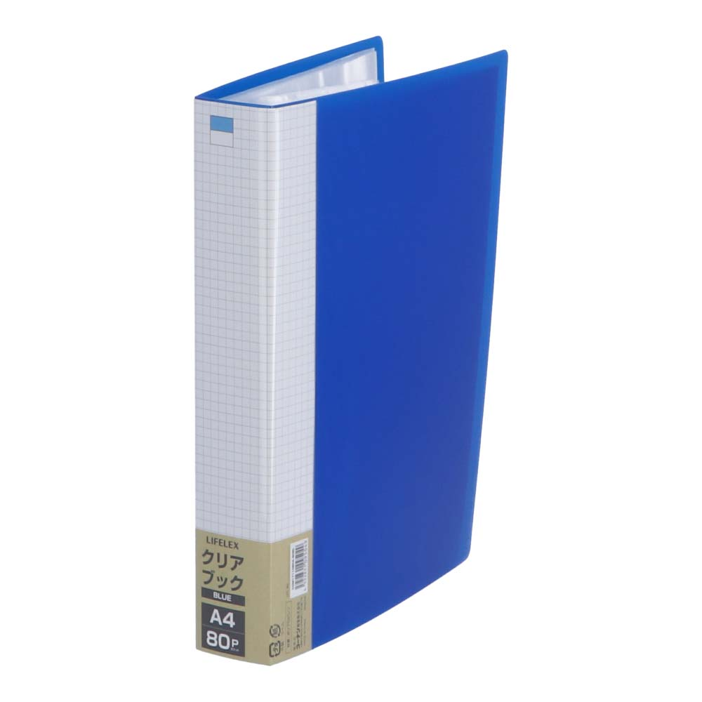 コーナン オリジナル LIFELEX クリアブック80P COM17110804−80B