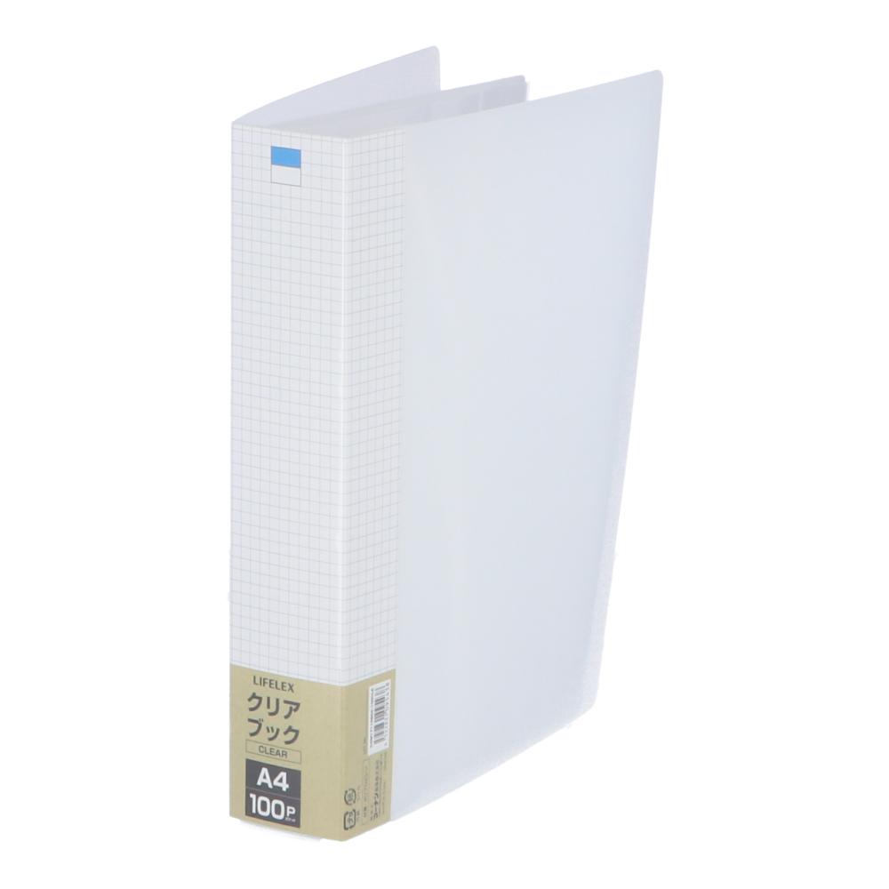 コーナン オリジナル LIFELEX クリアブック100P COM17110804−100 クリア