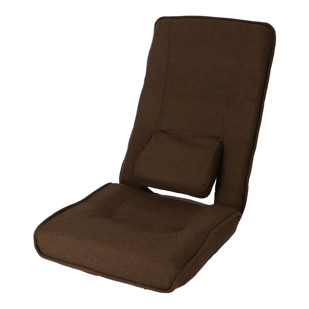 コーナン オリジナル LIFELEX 腰にやさしい座椅子 DBR