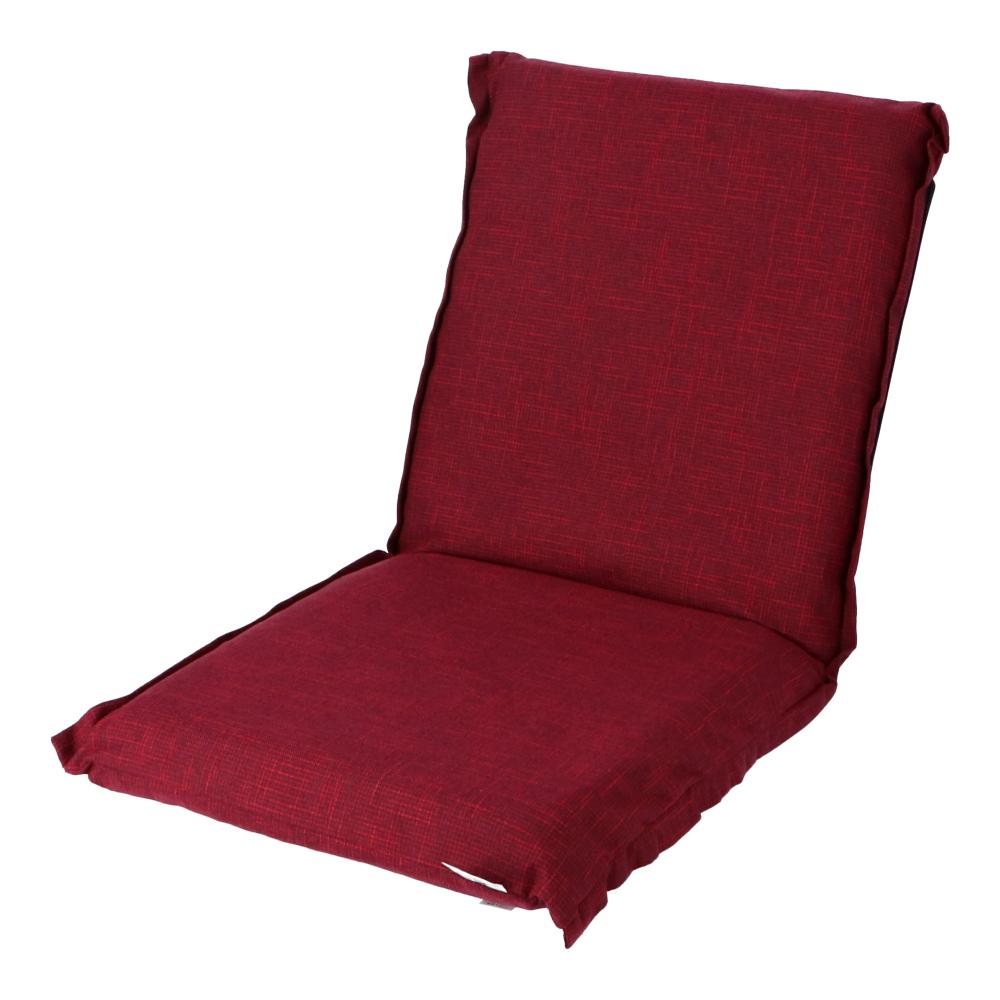 コーナン オリジナル LIFELEX カバーの洗えるリクライニング座椅子 座椅子 レッド