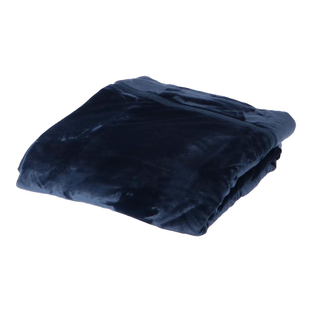 コーナン オリジナル 中わた入り毛布 シングル 06−2158MNBL