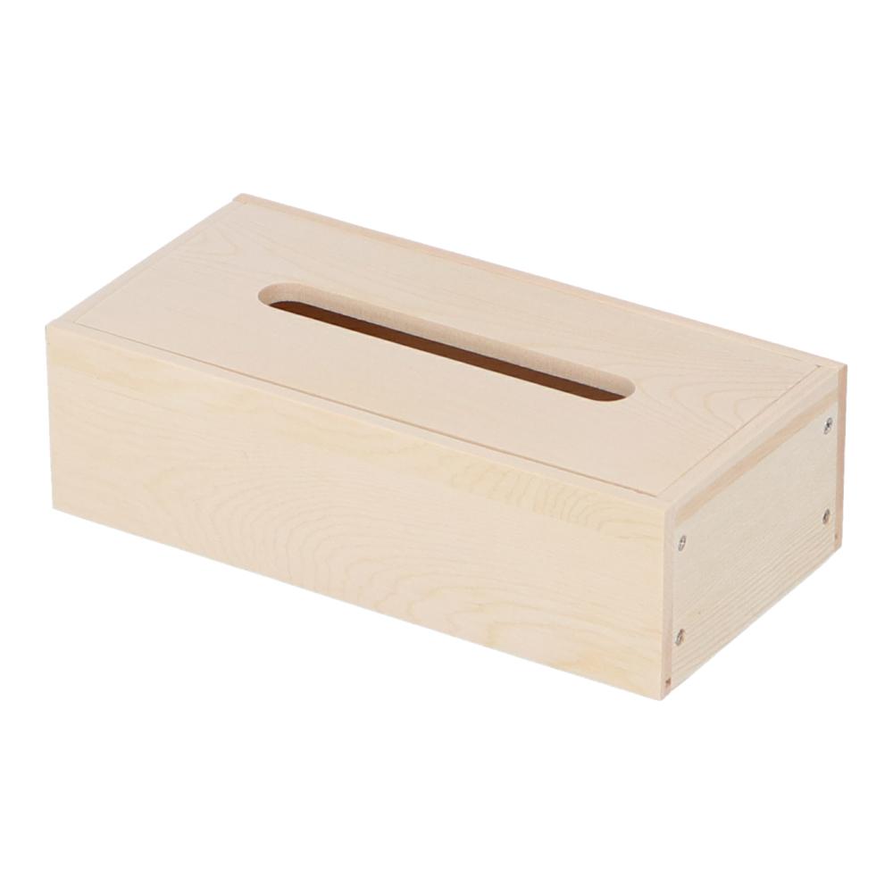 コーナン オリジナル 木製ティッシュBOX組立キット