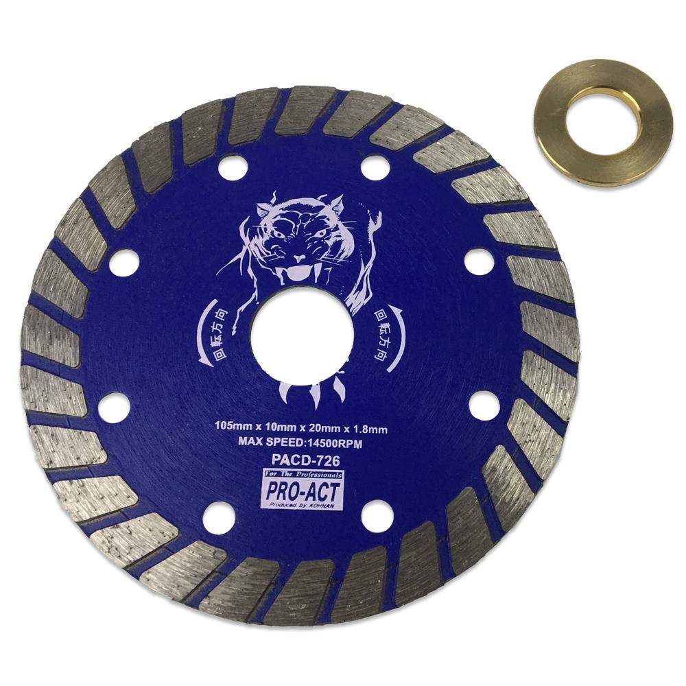 コーナン オリジナル PROACT ダイヤモンドカッターウェーブタイプ105mm