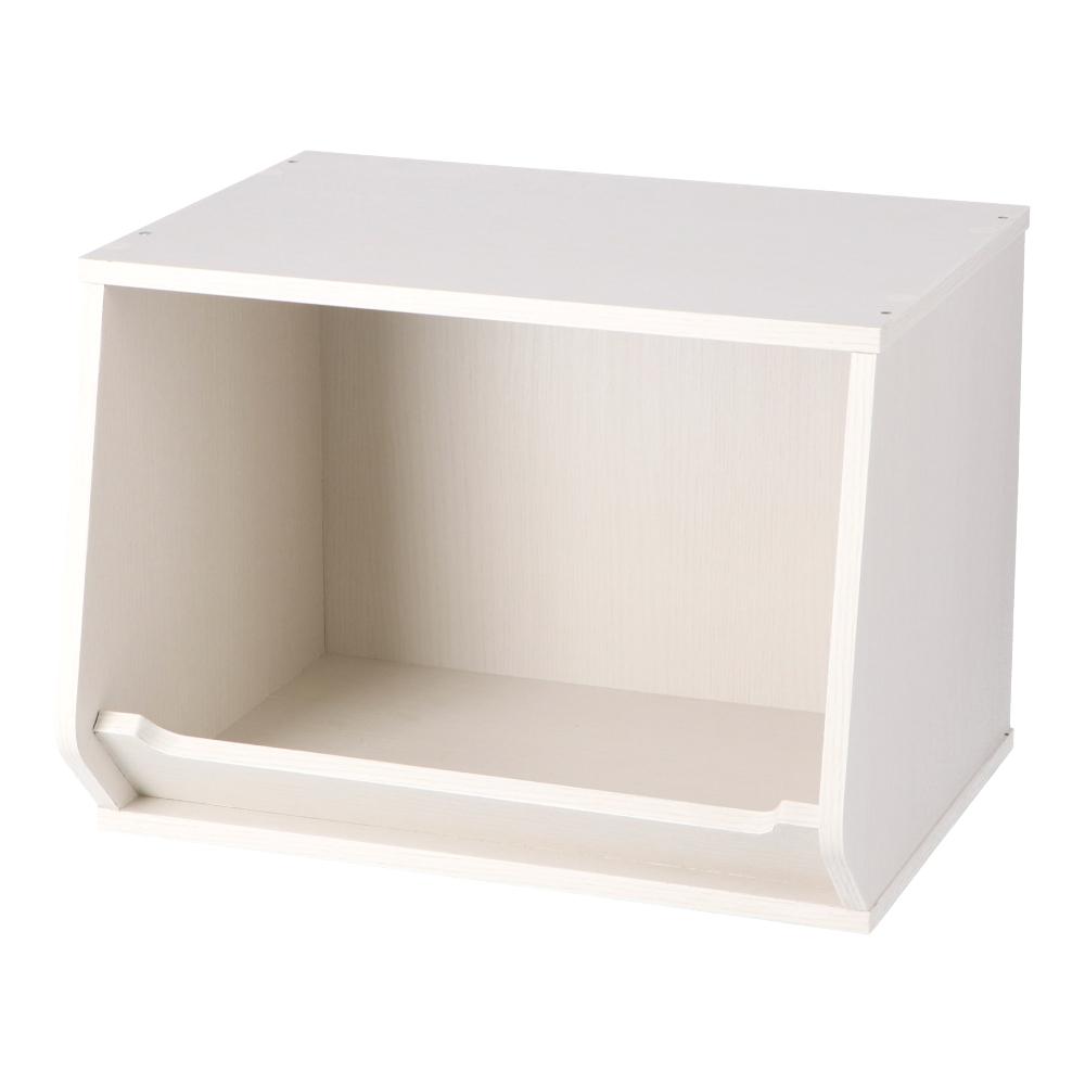 コーナン オリジナル LIFELEX 組合せできるボックスオープン レギュラー ホワイト