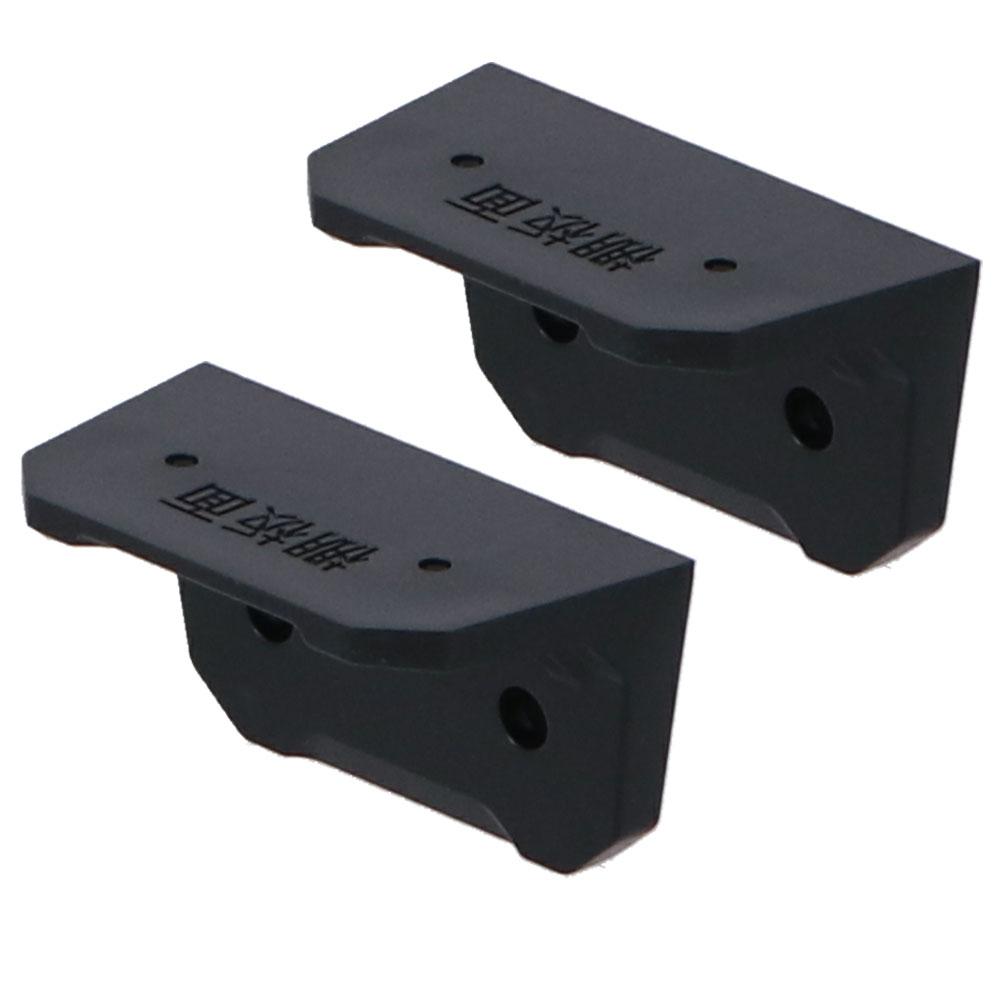 コーナン オリジナル LIFELEX 2×4ブラケット用 棚受 2個入り ブラック