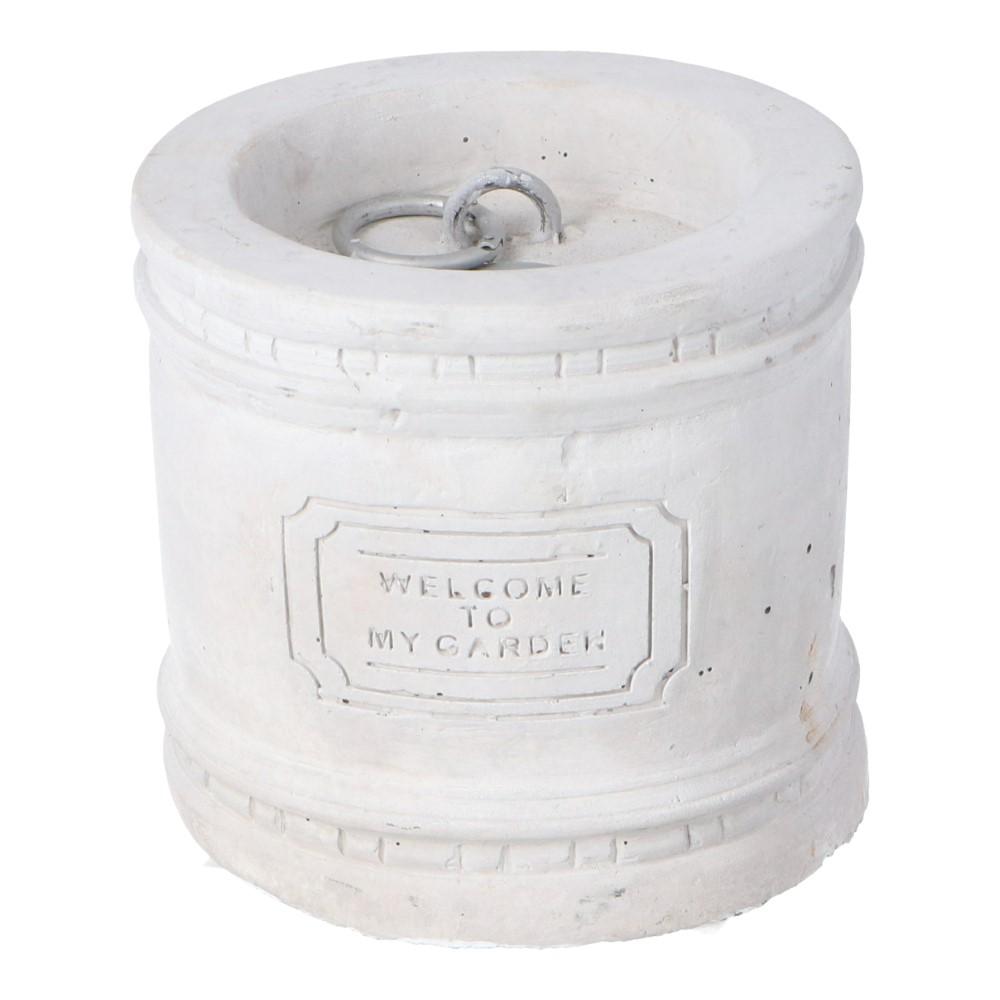 コーナン オリジナル LIFELEX アンティーク調ウェイト ホワイト 160×160×150