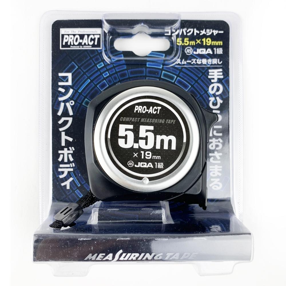 コーナン オリジナル PROACT コンパクトメジャー5.5m×19mm