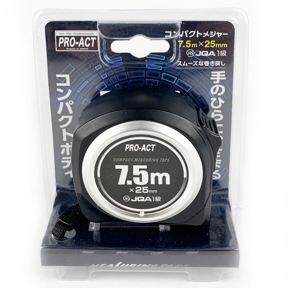 コーナン オリジナル PROACT コンパクトメジャー7.5m×25mm